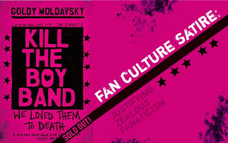 Kill the Boy Band by Goldy Moldavsky // Spoiler BookReview